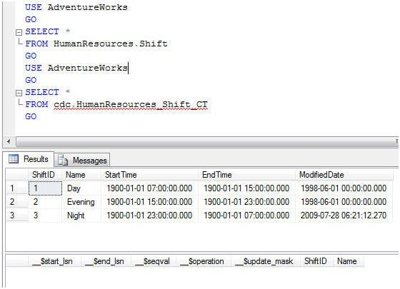 Introduction to Change Data Capture (CDC) in SQL Server 2008