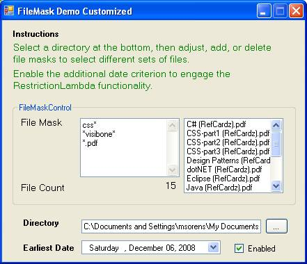 Using LINQ Lambda Expressions to Design Customizable Generic