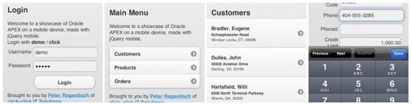Oracle APEX on your Smartphone - Simple Talk