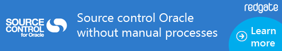 Source Control Oracle without manual processes