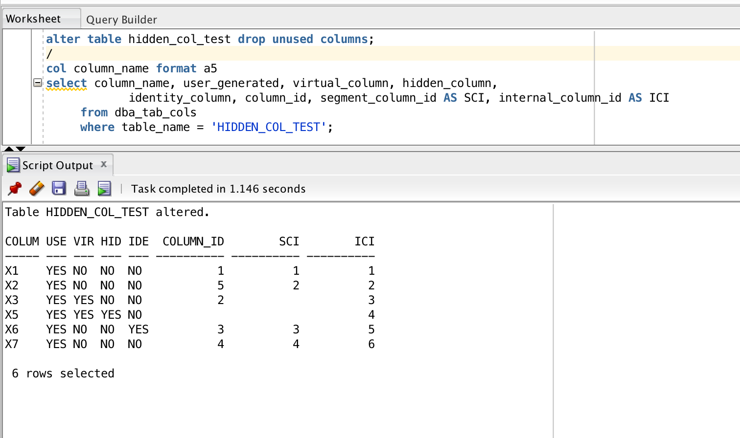Invisible Columns In Oracle Database 12C - Simple Talk