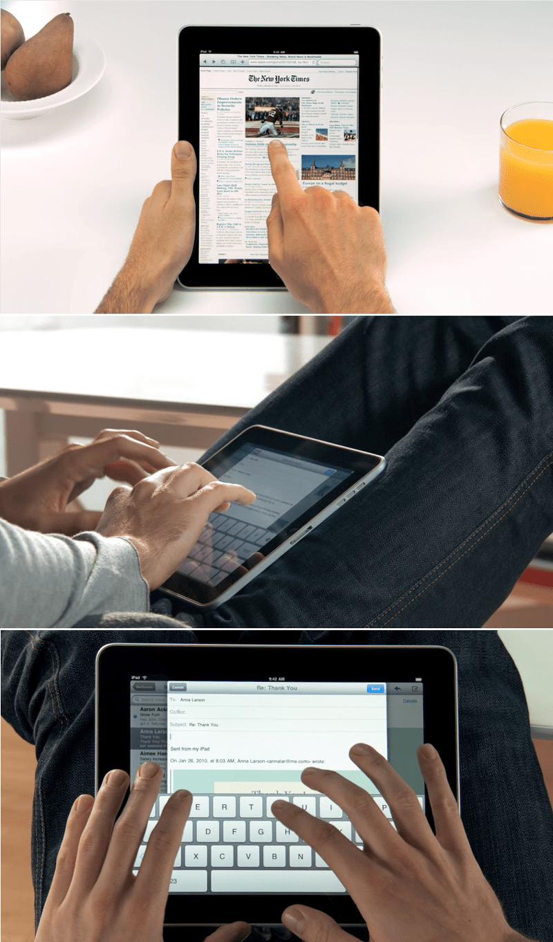 iPad Ergonomics