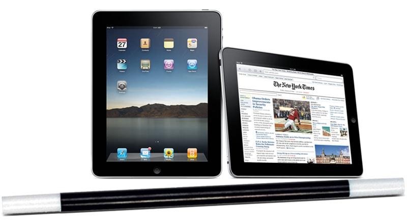 iPad and magic wand
