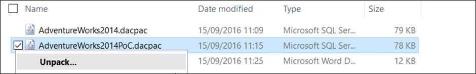 Comparing DacPacs using SQL Compare 4