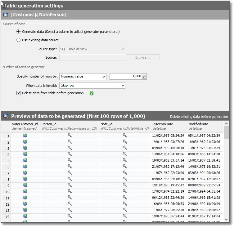 Generating realistic dates - SQL Data Generator and Python