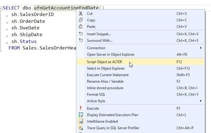 SQL Prompt tip 2