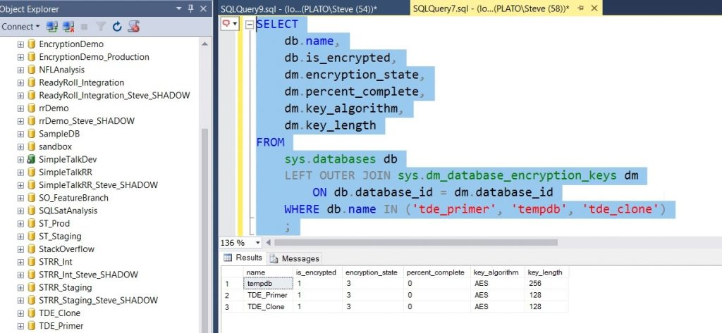 SQL Clone TDE 9