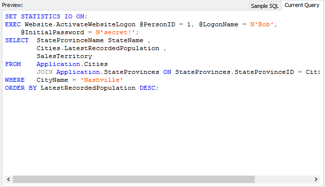 How to implement a SQL code formatting standard