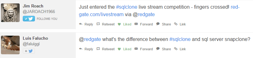 SQL Clone live stream 2