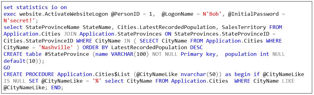 SQL Prompt custom style 1