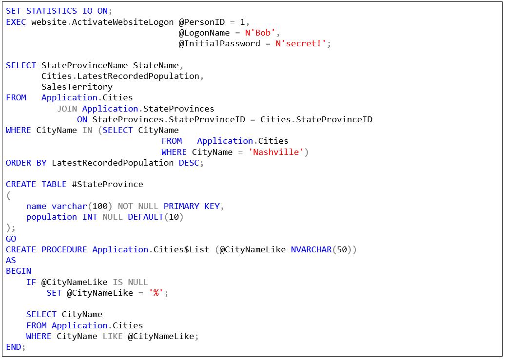 SQL Prompt custom style 2