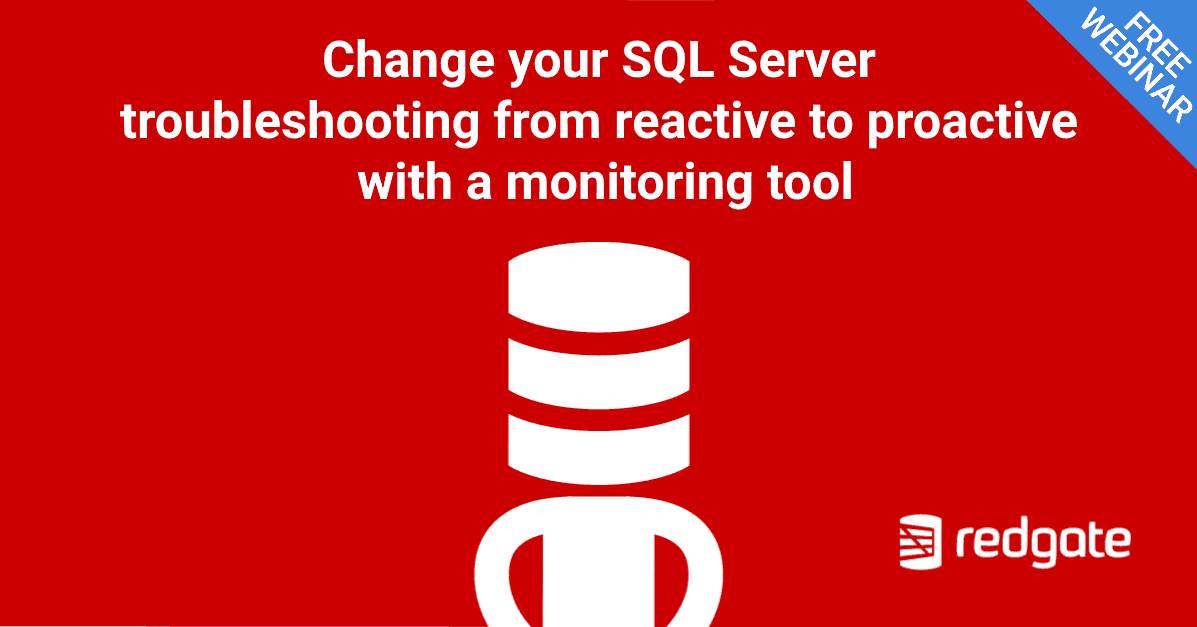 Change your SQL Server troubleshooting