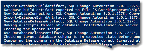 Practical PowerShell Processes With SQL Change Automation