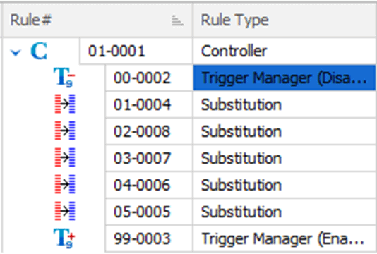 Using rule grouping and ordering in Data Masker