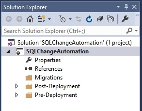 Database Development in Visual Studio using SQL Change