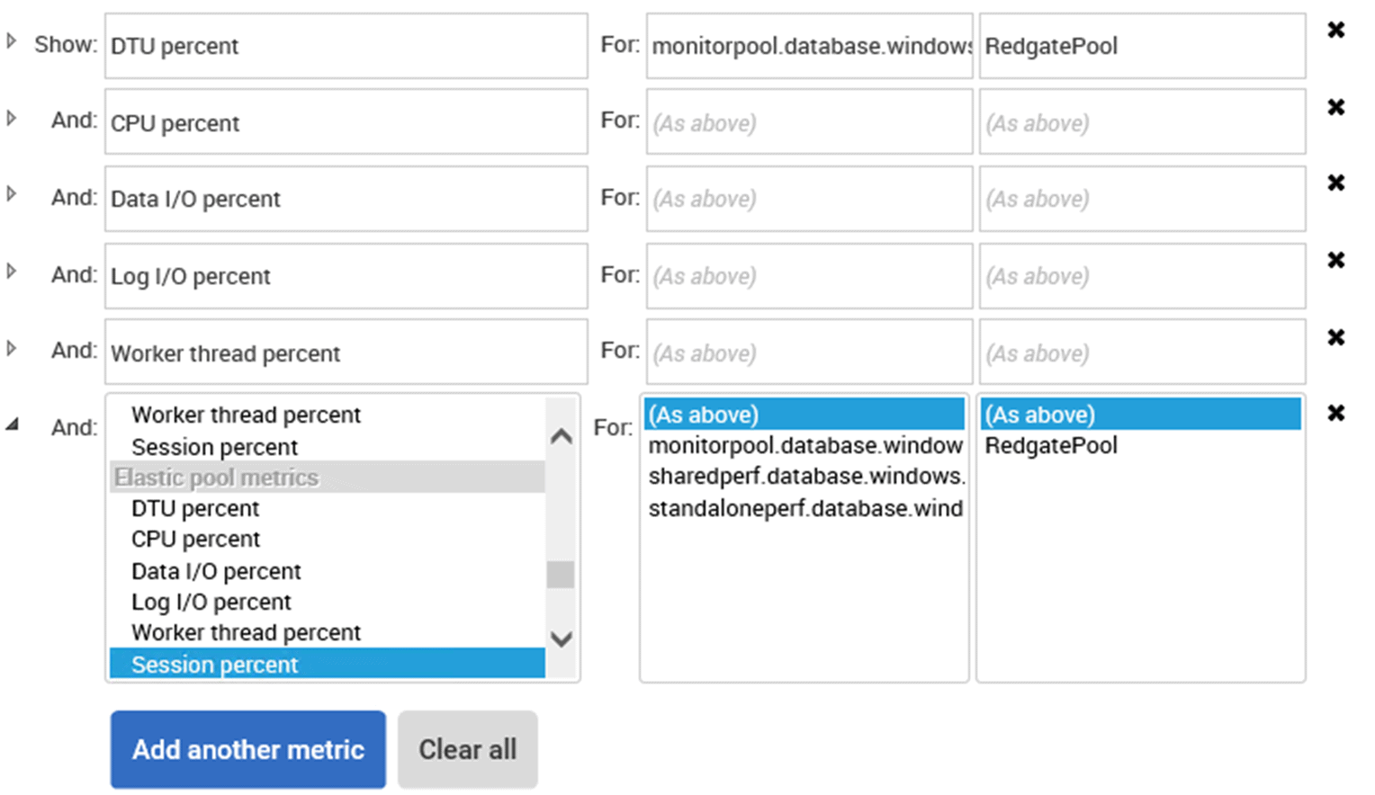 Monitoring Azure SQL Database with SQL Monitor - Redgate